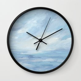 Winter Days - Winter Seascape Wall Clock