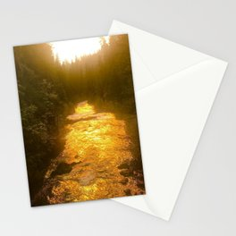Sunset in Natural Bridge Stationery Cards
