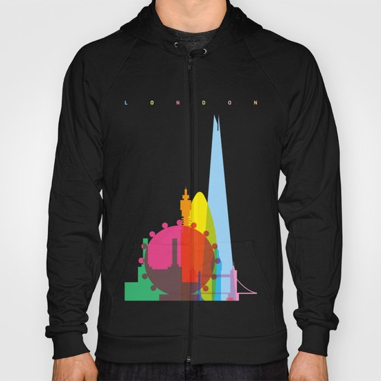 Shapes of London. Accurate to scale Hoody