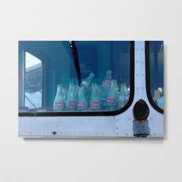 Empty Bottles Empty Dreams Metal Print