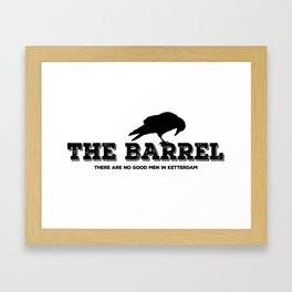 The Barrel Framed Art Print