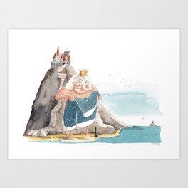 King of the Isle Art Print