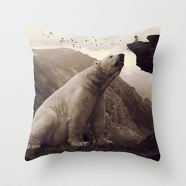 tutelary Throw Pillow
