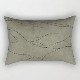 Frankenstein Monster Stitches Rectangular Pillow