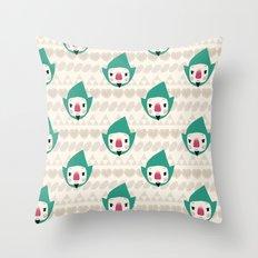Tingle pattern Throw Pillow