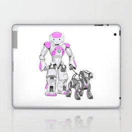 The Dog Walker. (Pink) Laptop & iPad Skin