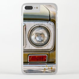 Vintage International Clear iPhone Case