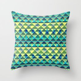 Christmas pattern III Throw Pillow