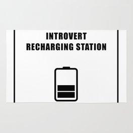 Introvert Recharging Rug