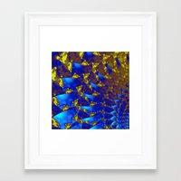 fractal Framed Art Prints featuring Fractal. by Assiyam