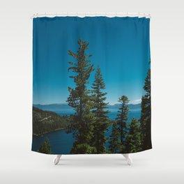 Lake Tahoe II Shower Curtain