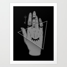 The Occult Hand Art Print
