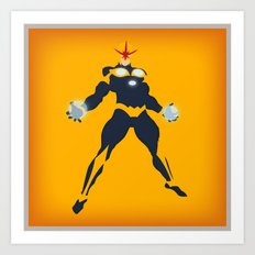 Richard Rider (Nova) Art Print