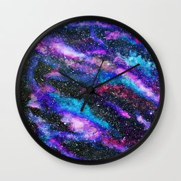RAINBOW GALAXY Wall Clock