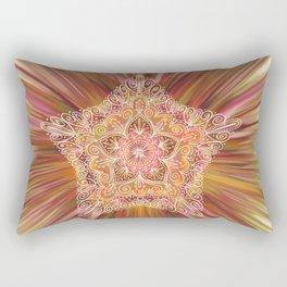 Vintage Star Aura Rectangular Pillow