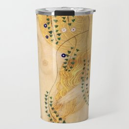 Water Serpents - Gustav Klimt Travel Mug