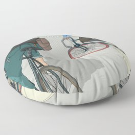 City traveller Floor Pillow