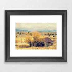 Leaving New Mexico Framed Art Print