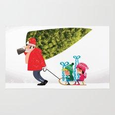 Buying the Christmas Tree Rug