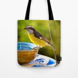 Caribbean Bananaquit Tote Bag