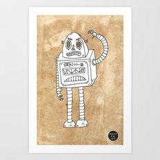 Robot-e Art Print