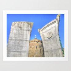 Reginald's Tower, Waterford City, Ireland Art Print