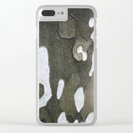 Camo Two Clear iPhone Case