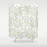 tequila Shower Curtains featuring Tequila party by Brendan Soulos Illustrations
