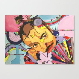 Izzy In Candyland Canvas Print