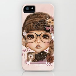 JAVA JOANNA  iPhone Case
