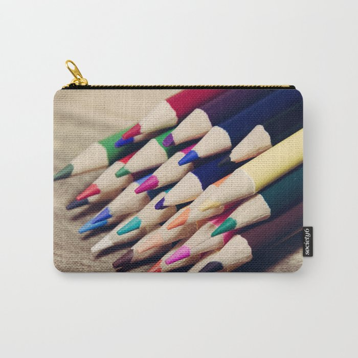 Colorful Life 2 Carry-All Pouch