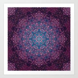 magic mandala 36 #mandala #magic #decor Art Print