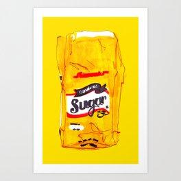 Sugar Rush Art Print