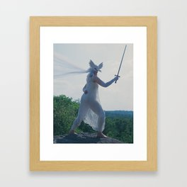 The Daughter of Swords Framed Art Print