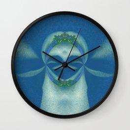 Peaceful Warrior Wall Clock
