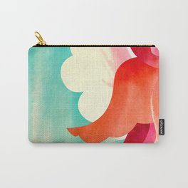 HANA - Brilliant Blooming Flower Carry-All Pouch