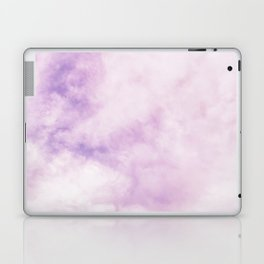 Fuchsia Cloud // Colorful Sunset Pink and Purple Fluffy Ocean Sky Photography Beach Vibes Laptop & iPad Skin