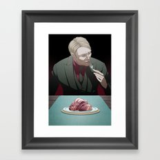 Remarkable Boy (Hannibal Lecter) Framed Art Print