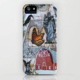 Strange Farm Girls iPhone Case