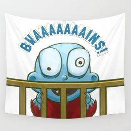 Nobody puts Baby Zombie in a corner! Wall Tapestry