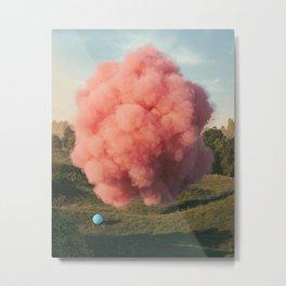 Cotton Candy Metal Print