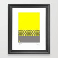 Jacquard 03 Framed Art Print