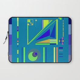 Incomprehensible No. 2, Blue Laptop Sleeve