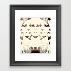 She's Remixed Framed Art Print