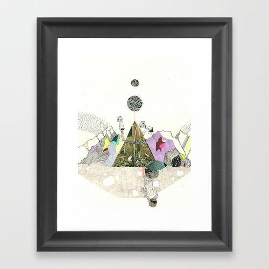 Climbers - Cool Kids Climb Mountains Framed Art Print
