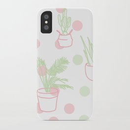 Plants, 2014. iPhone Case