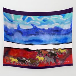 Sky Ponies #34 Wall Tapestry