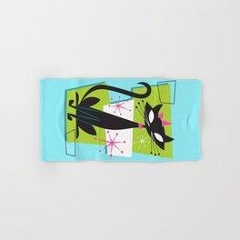 Atomic Princess Cat Hand & Bath Towel