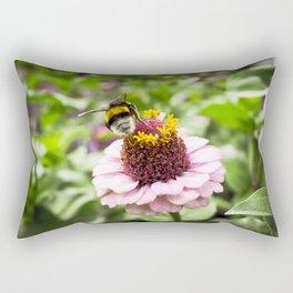 bumble-bee at work Rectangular Pillow