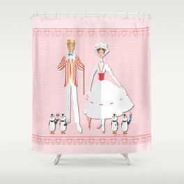 Jolly Holiday Shower Curtain